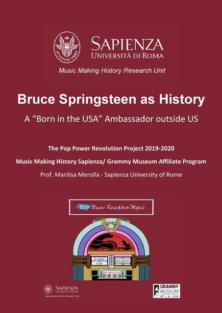 Bruce Springsteen as History